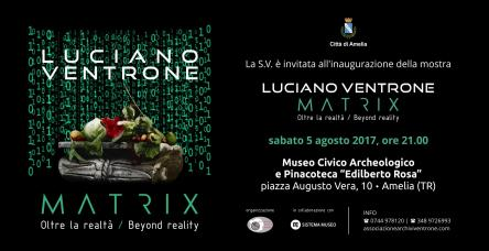 Luciano Ventrone - MATRIX -